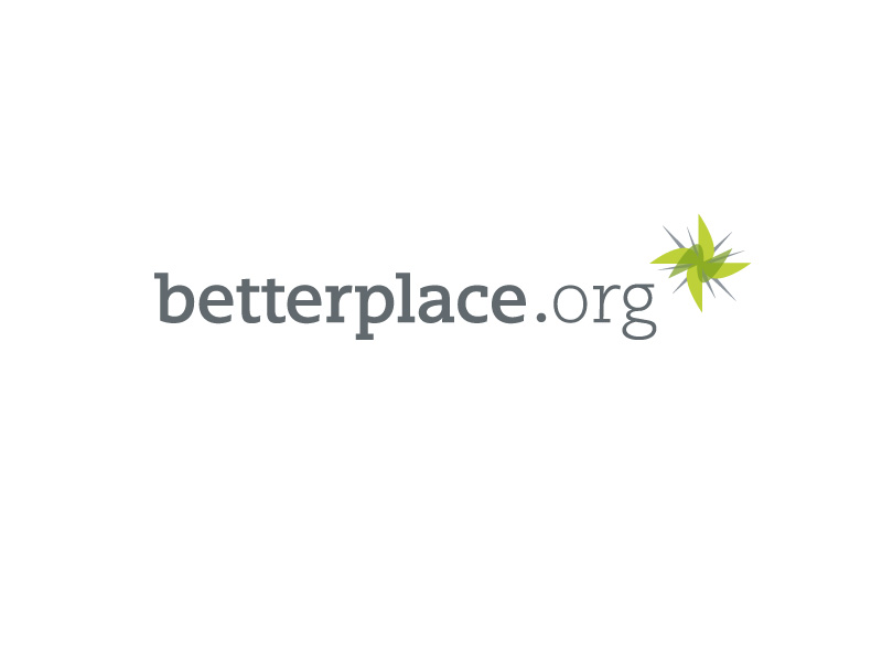 Logo der Spendenplattform betterplace.org